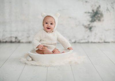 Sesion de fotos bebe horcajo de santiago cuenca tarancon madrid
